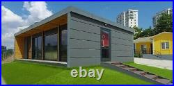Converted Shipping Container 40 ft Holiday Home Portable House Cabin Garden room