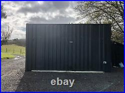 Converted shipping container Garden/office/summer House/Gym READY NOW