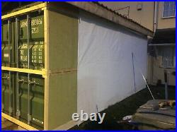 Converted shipping container to coffee shop, bar, catering, Pizza Shop, MUST GO