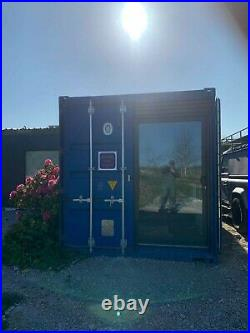 Custom Built Shipping Container Home Office Annex
