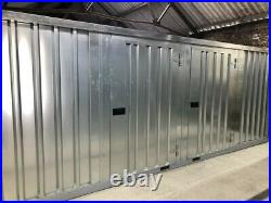 Flat Pack American Style 6M High Quality Galvanized Steel Containers