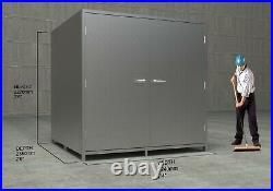 Flatpack Steel Storage Room