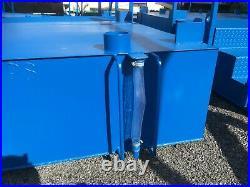 Large capacity Effluent Tank (3,200 Ltrs) for 1+1 Toilet Unit
