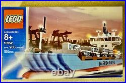 Lego 10152 Maersk Sealand Container Ship 2004 Edition New