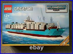 Lego Creator Expert 10241 Maersk Line Triple-E Container Ship. MINT++