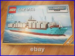 Lego Creator Set 10241 Maersk Line Triple-E Container Ship NEW Broke Seal