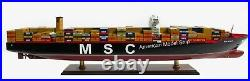 MSC Oscar Container Ship Model 40 Handcrafted Wooden Model NEW