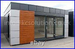 Modular Building Portable Cabin portable office 20 x 20 not a shipping container