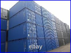 NEW 20FT SHIPPING CONTAINERS FOR SALE FROM £3100 + vat HIGH DEMAND