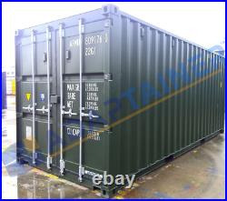 NEW 20ft Shipping Container NEW nationwide Ideal for Storage FREE light