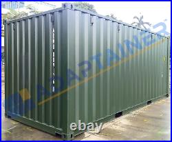 NEW 20ft Shipping Containers Leeds Ideal for Storage with FREE light