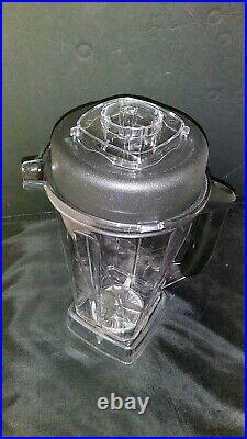 NEW, 64oz CONTAINER FITS VITAMIX 5200 5000 6300 VM103 SOFT-GRIP FAST SHIPPING