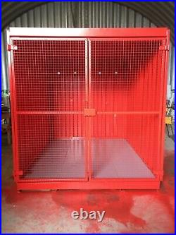New 10x8FT Caged Container