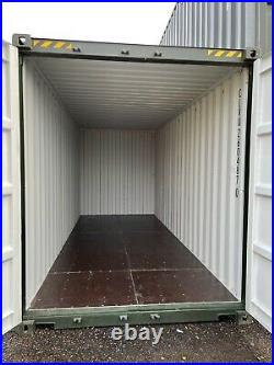 New 20ft GREEN/BLUE High Cube Shipping Container In Stock Now In Doncaster