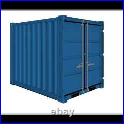 New 8ft x 8ft x 8ft LC. Approx. Steel LC Storage container