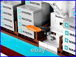 New Lego 10241 Maersk Line Triple E Container Ship Sealed 2014 Creator Series
