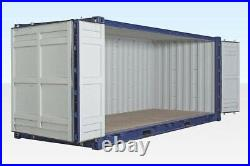 New (One Trip) 20ft Open Sided (Full Side Access) Container