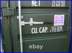 New One Trip 20ft Shipping Container's for Sale IN SCOTLAND