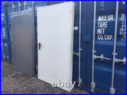 New, Steel Security Door, Self Storage, Shipping Container, Modular Building, Box