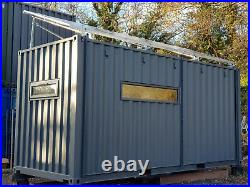 Office/Studio Shipping Container Solar PV System, Low Environmental Footprint