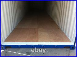 One Trip 40ft HIGH CUBE shipping container NEW Nationwide Stock and Delivery