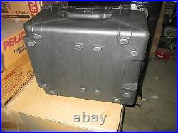 Pelican 1620 Hard Case 25x20x14 OD / 21x16x12 ID Black Transit Shipping NIB ATA