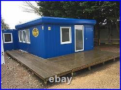 Portable building, sales office, home office, cabin