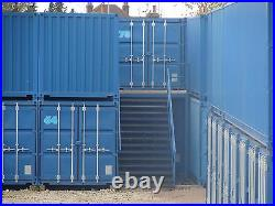 SHIPPING CONTAINERS 20 FT or 40 FT STACKING PINS-RISER BLOCKS SAFE STACKING PINS