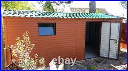 Secure Garage 10x20ft for Car, Motorcycle, Garden Equipment Shed Workshop Safe