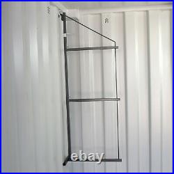 Shelving System for Shipping Container 3 Tier 3 Bracket Set Extra Strong Storage