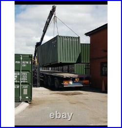 Shipping Container New in Stock 20x8ft Steel container one trip CF