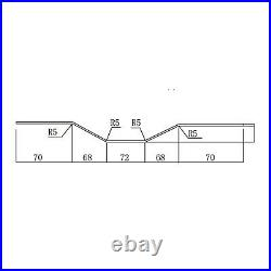Shipping Container Replacement Side Panel for Standard Container Height