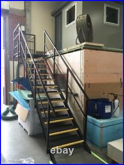 Shipping Container Stairs 13 Tread System £900 + VAT NEW