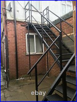 Shipping Container Stairs, Metal Stairs, 13 Tread System £900+ VAT NEW