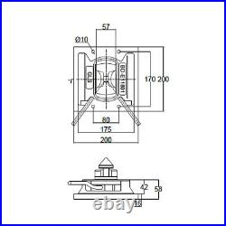 Shipping Container Twistlock Fixing Plate
