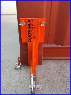 Shipping Container Wheels Hubs & Hooks Heavy Duty Move 20+40ft Container