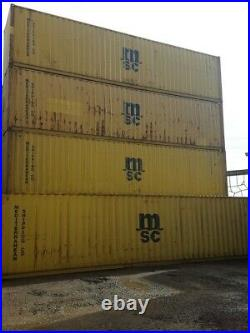 Shipping containers 40 ft HC USED SOUTHAMPTON SEARCH BOXMOVES1 £2895 PLUS VAT