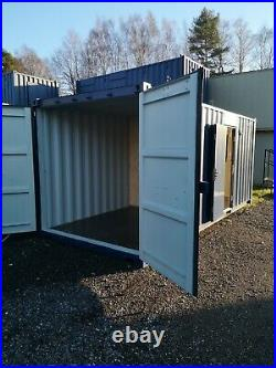 Site office, shipping container, 50/50, office/store, storage, NEW, £6550+VAT