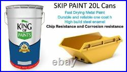 Skip & Shipping Container Paints 20Litre Can King of Paints all Colours