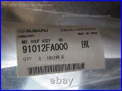 Subaru Impreza Wrx Sti Gc8 Molding Roof Rh 91012fa000 Container Shipping Only